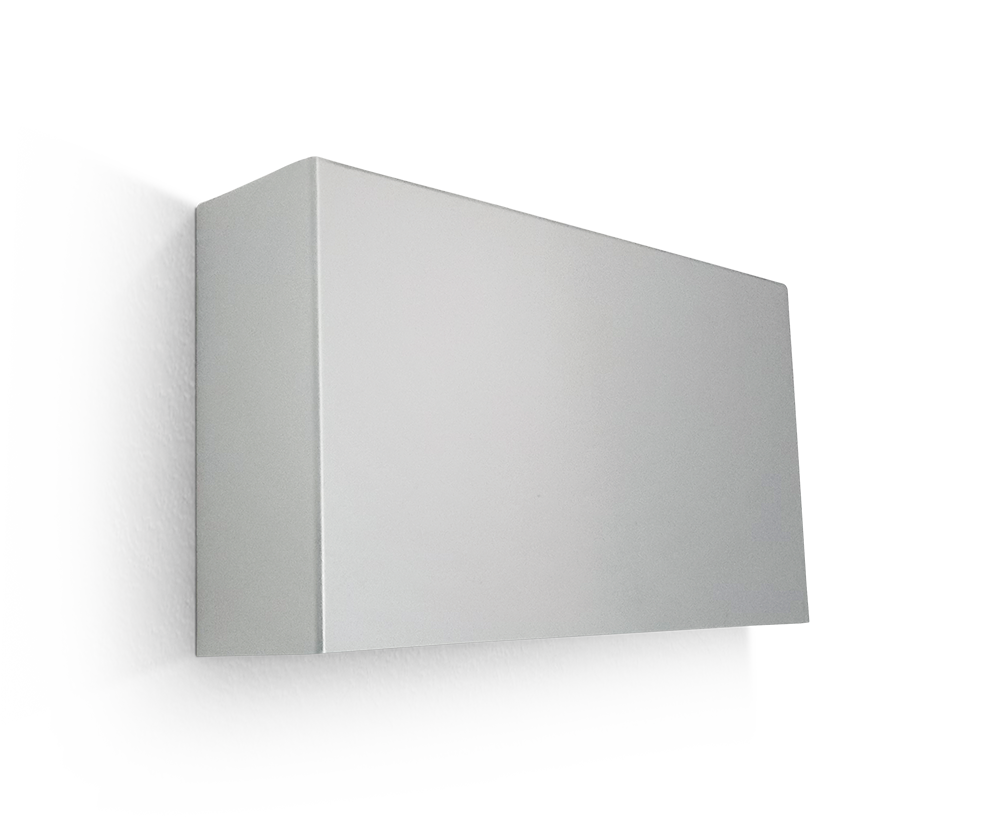 VIALED WALL 5,3W 2h 320lm NP Gris