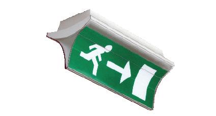 Panneau de signalisation STEP 2
